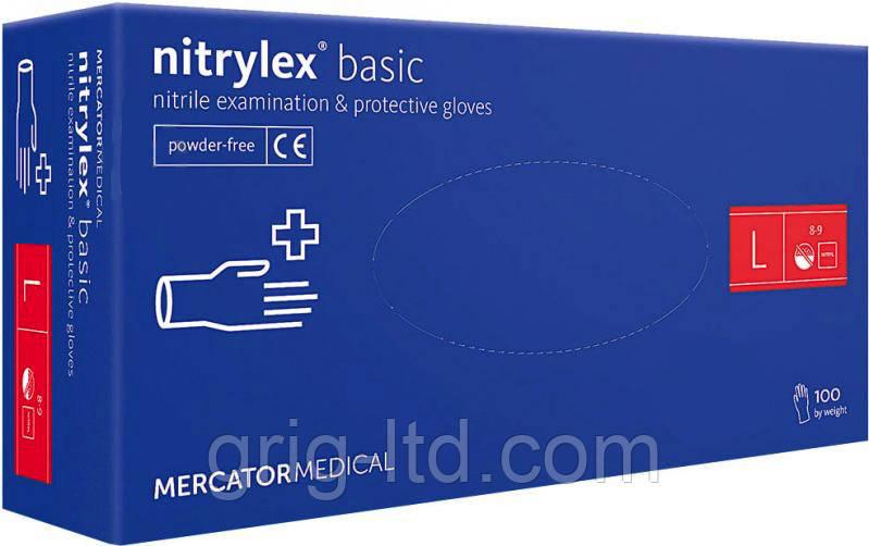 Перчатки нитриловые Nitrylex  L