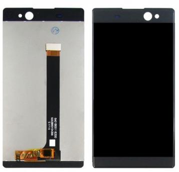 Дисплей модуль Sony XA Ultra F3212  в зборі з тачскріном сірий