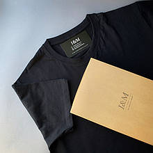 Мужская футболка I&M Craft черная (120100)