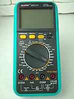Мультиметр цифровой WinApex 9801A+ в защитном чехле, подсветка дисплея