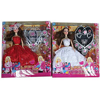 "Кукла типа ""Барби с  аксесс, 2 вида микс, в кор. 33*28*5,6см /48-2/(00298-17)"