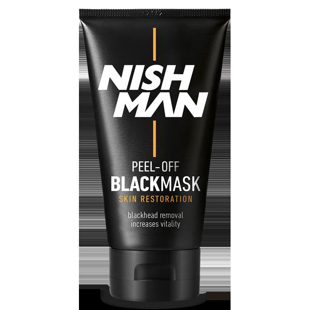 Nishman черная маска для удаления черных точек для лица 150мл