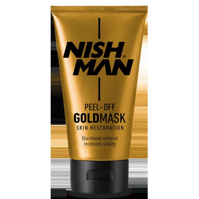 Nishman золотая маска для удаления черных точек для лица 150мл