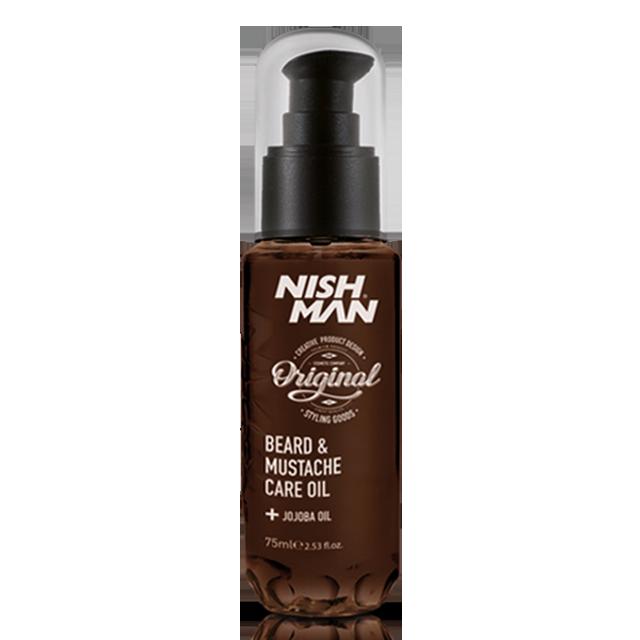 Nishman масло для ухода за бородой и усами 75мл