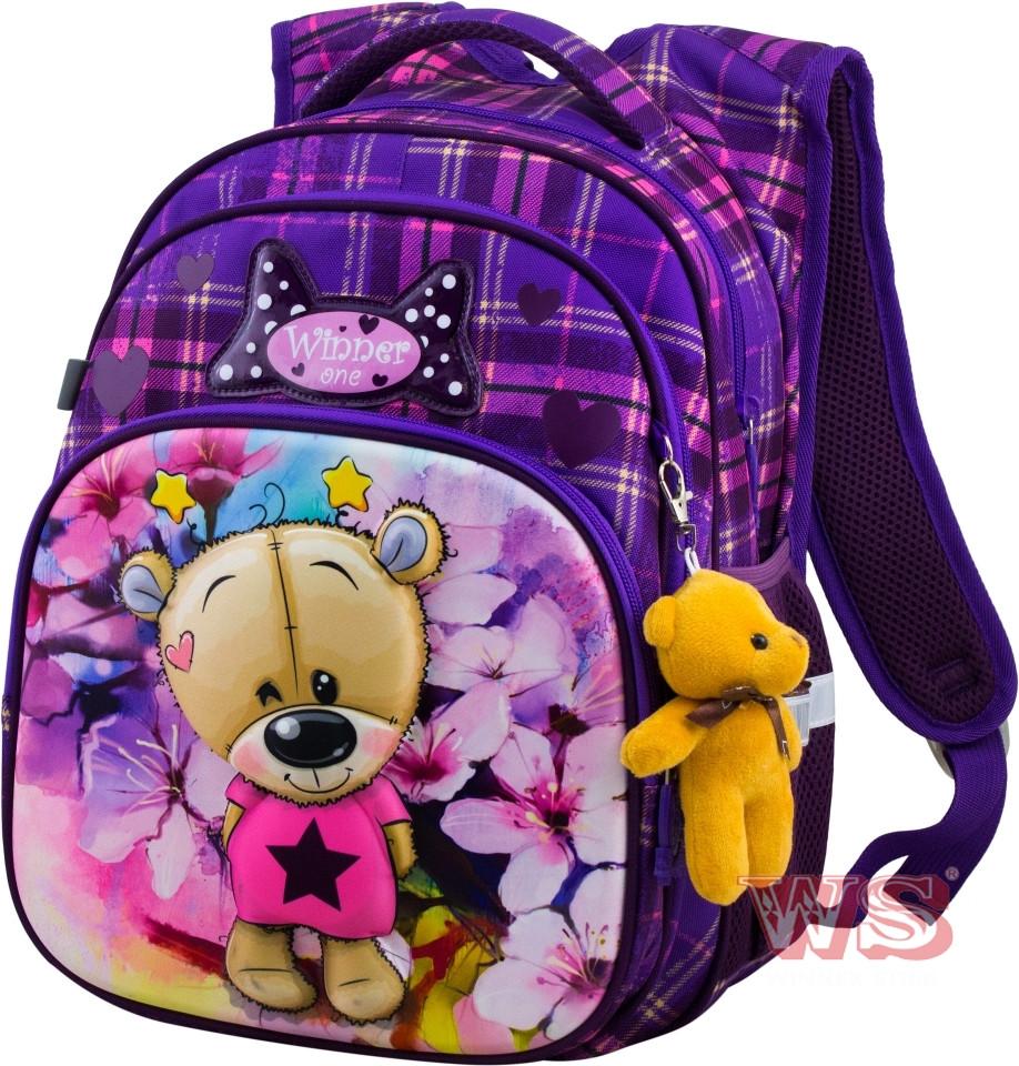 Рюкзак шкільний для дівчат Winner One R3-223