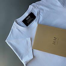 Мужская футболка I&M Craft белая (120101)
