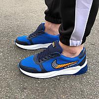 Синие мужские кроссовки в стиле Nike Air Zoom, фото 1