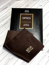 Салфетка для очков OPTICS  15*15