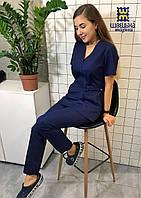 Медицинский костюм женский 100% хлопок