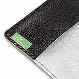 Кожаная обложка на паспорт Танчики, фото 2