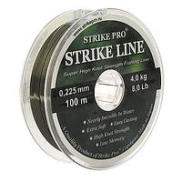 Леска Strike Pro Strike Line 100м 0.435мм (1шт) (диаметр 0.435мм)