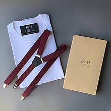 Набір I&M футболка Craft і підтяжки для штанів (120105)