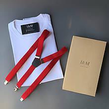 Набір I&M футболка Craft і підтяжки для штанів (120106)