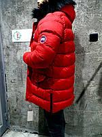 Красная мужская куртка smm