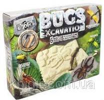 Bugs ехсavation 6 видов насек Бронзховка Сверчок Стрекоза Клоп Тахины