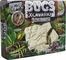 Bugs ехсavation 6 видов насек Златка Богомол Клоп Кузнечик Божья коров Скорпион