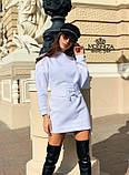 """Сукня міні з трикотажу з корсетом """"Aysel"""".Розпродаж, фото 4"""