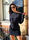"""Сукня міні з трикотажу з корсетом """"Aysel"""".Розпродаж, фото 6"""