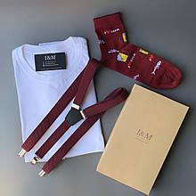 Набір I&M футболка Craft, шкарпетки і підтяжки для штанів (120109)