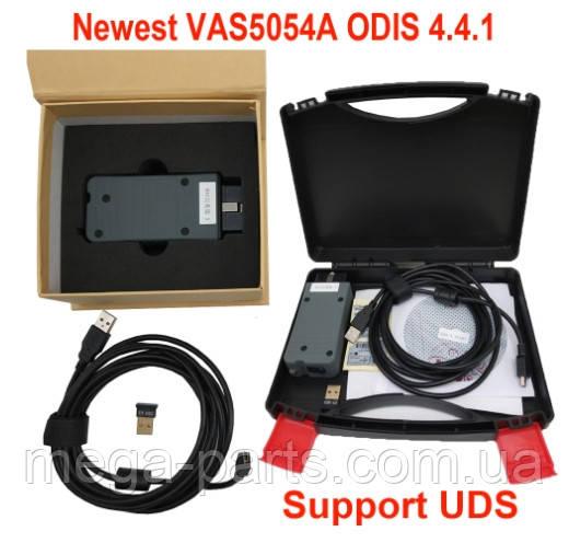Автосканер VAS5054A +ODIS 5.1.3 Bluetooth Полная Версия Full на чипе OKI в КЕЙСЕ + блютус адаптер в подарок