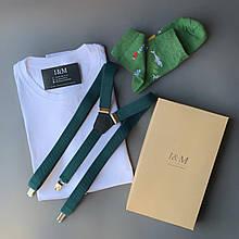 Набір I&M футболка Craft, шкарпетки і підтяжки для штанів (120110)
