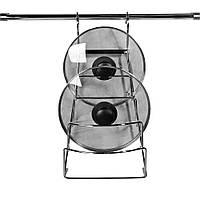 Вішалка для кришок на рейлинговую трубу d-16мм.