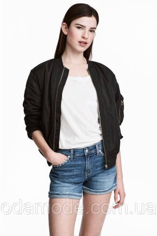Джинсовые женские шорты   H&M