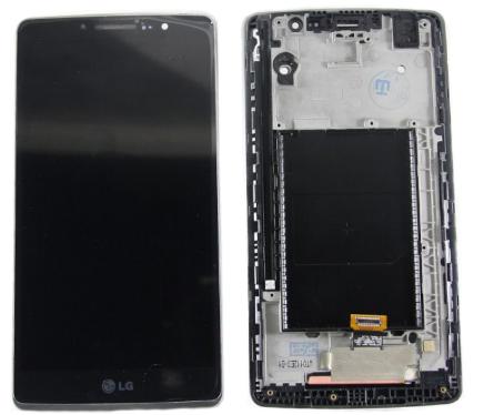 Дисплей модуль LG H540F Dual, H542, H631, H635, LS770, G4 Stylus в зборі з тачскріном, чорний