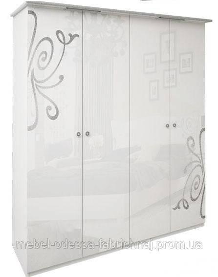 Шкаф 4-дверный Богема