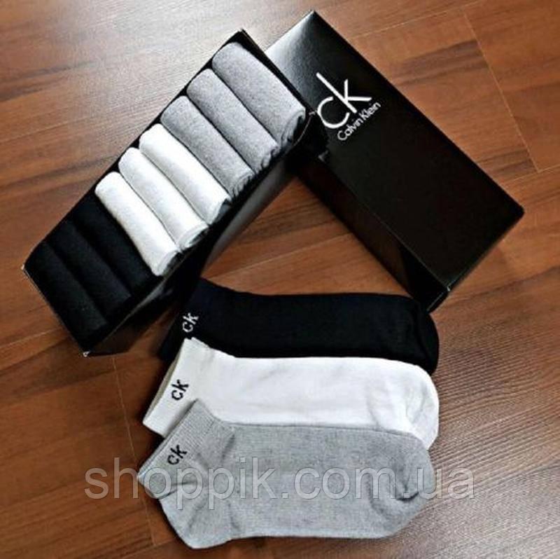 Набор мужских носков Calvin Klein 9 пар в подарочной упаковке