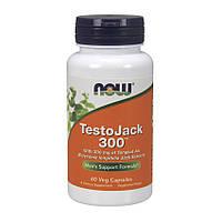 Комплекс для повышения тестостерона NOW Testo Jack 300 60 veg caps