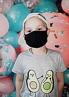 Детская маска на лицо, на рот. Защитная маска от пыли. Многоразовая хлопковая маска на рот.