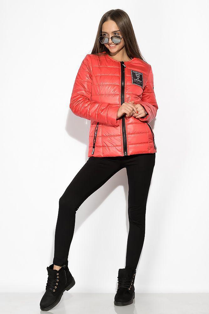 Демисезонная стеганая женская куртка 120PST023
