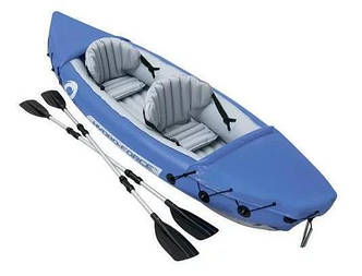 Лодка надувная Bestway Hydro-Force Raft Set 2чел (2весла+ремкомплект) 321-88-44см