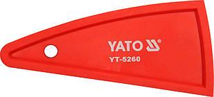 Шпатель для силикона, Yato (YT-5260)