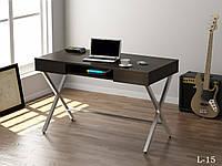 Офисный письменный стол L-15 Loft design Венге Корсика, фото 1