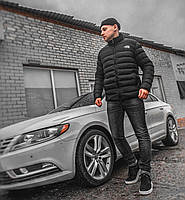 Черная мужская куртка smm