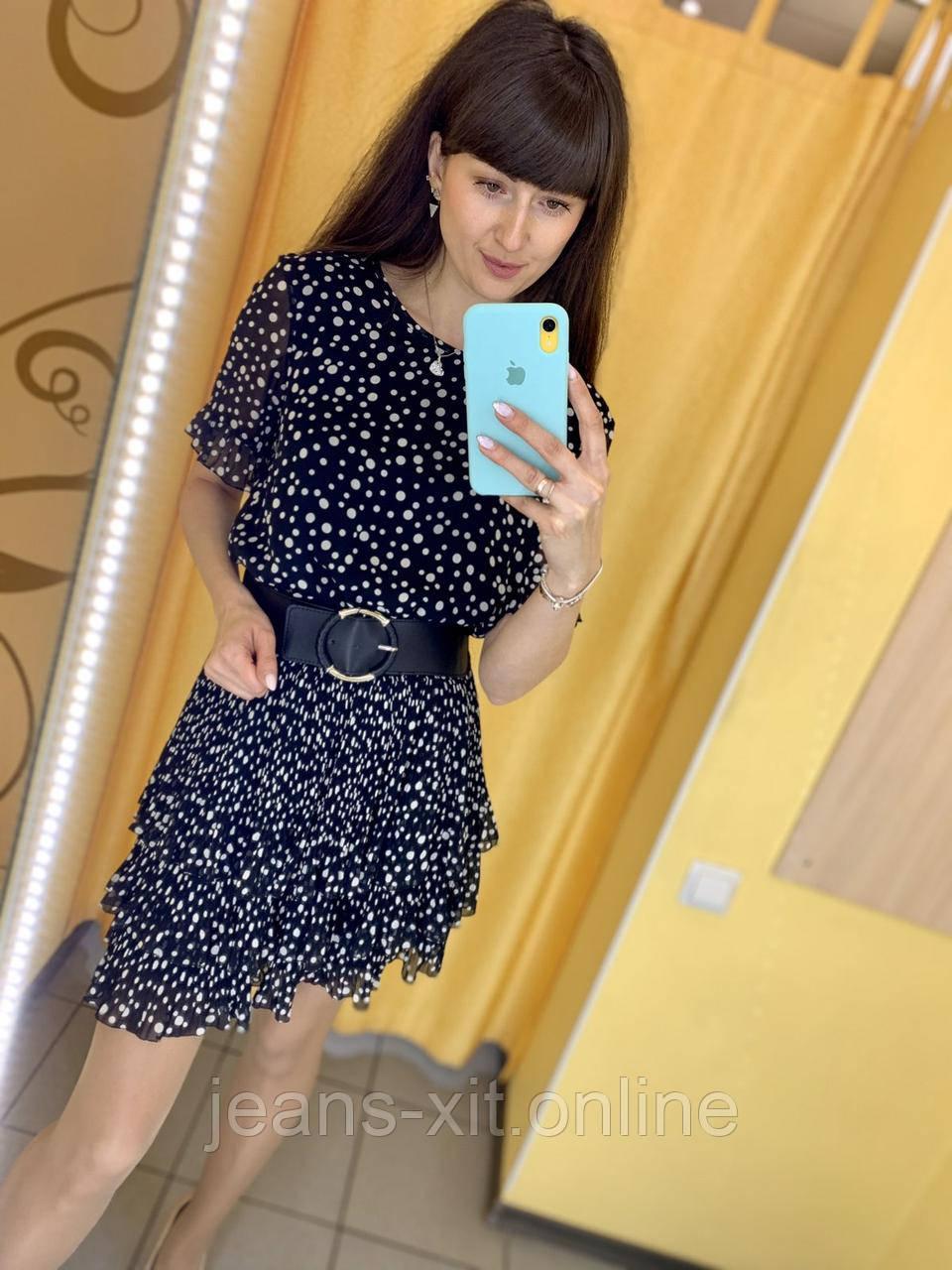 Платье женское 36(р) черное 1802 Perle donna Турция Весна-C