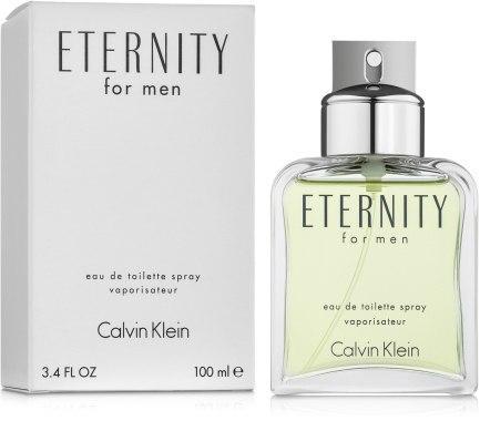 CALVIN KLEIN Eternity For Men 100ml ( ТЕСТЕР ) туалетна вода Кельвін Кляйн Этернити Фо Мен ОРИГІНАЛ