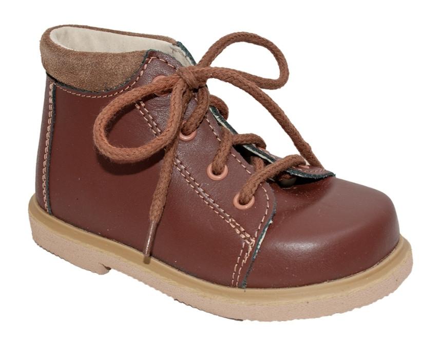 Детские ортопедические ботинки Rena 931-36 Коричневые