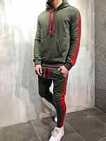 Мужской спортивный костюм с капюшоном, производство Турция