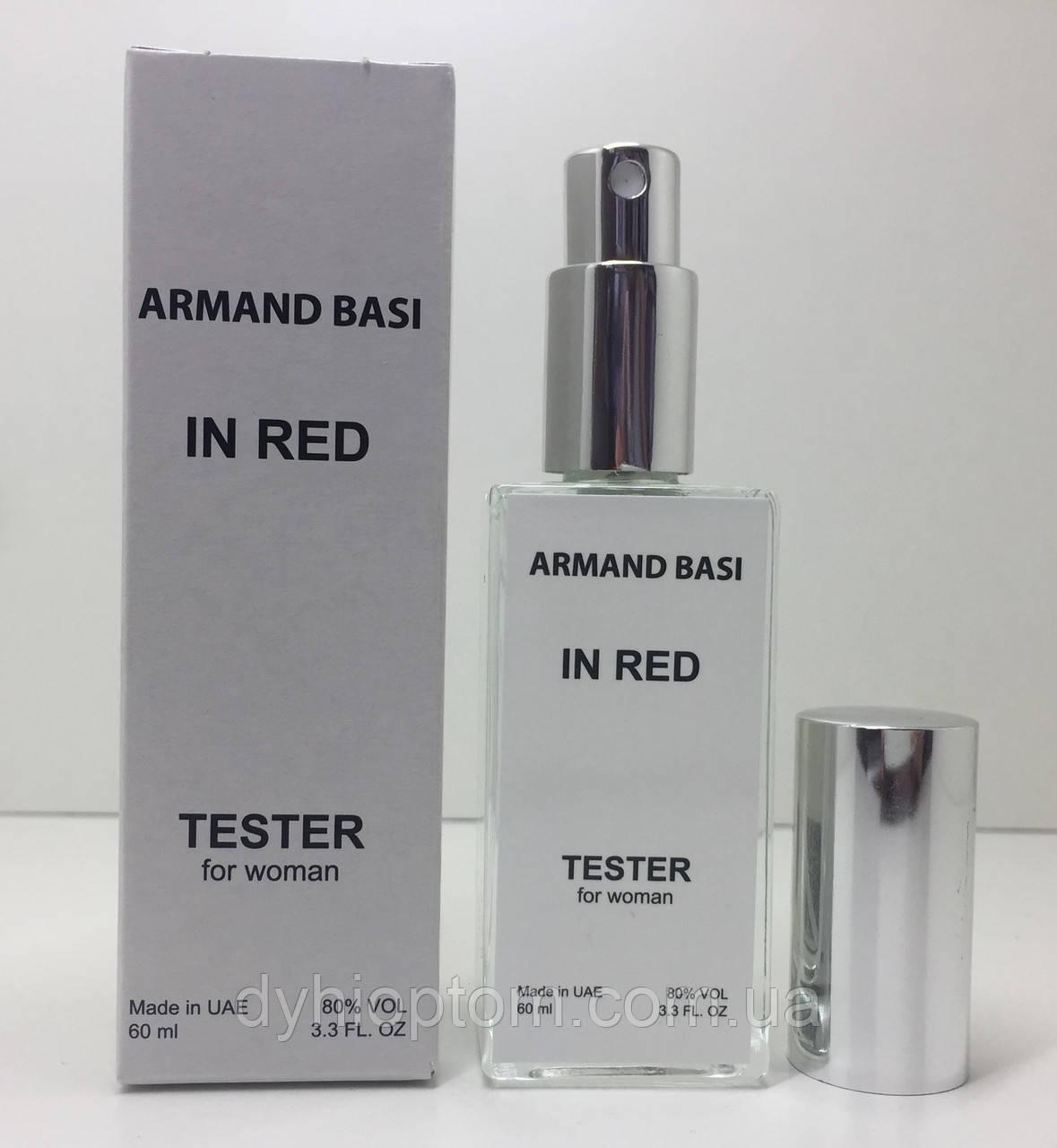 Тестер женский Armand Basi In Red (Арманд Баси ин Рэд) 60 мл