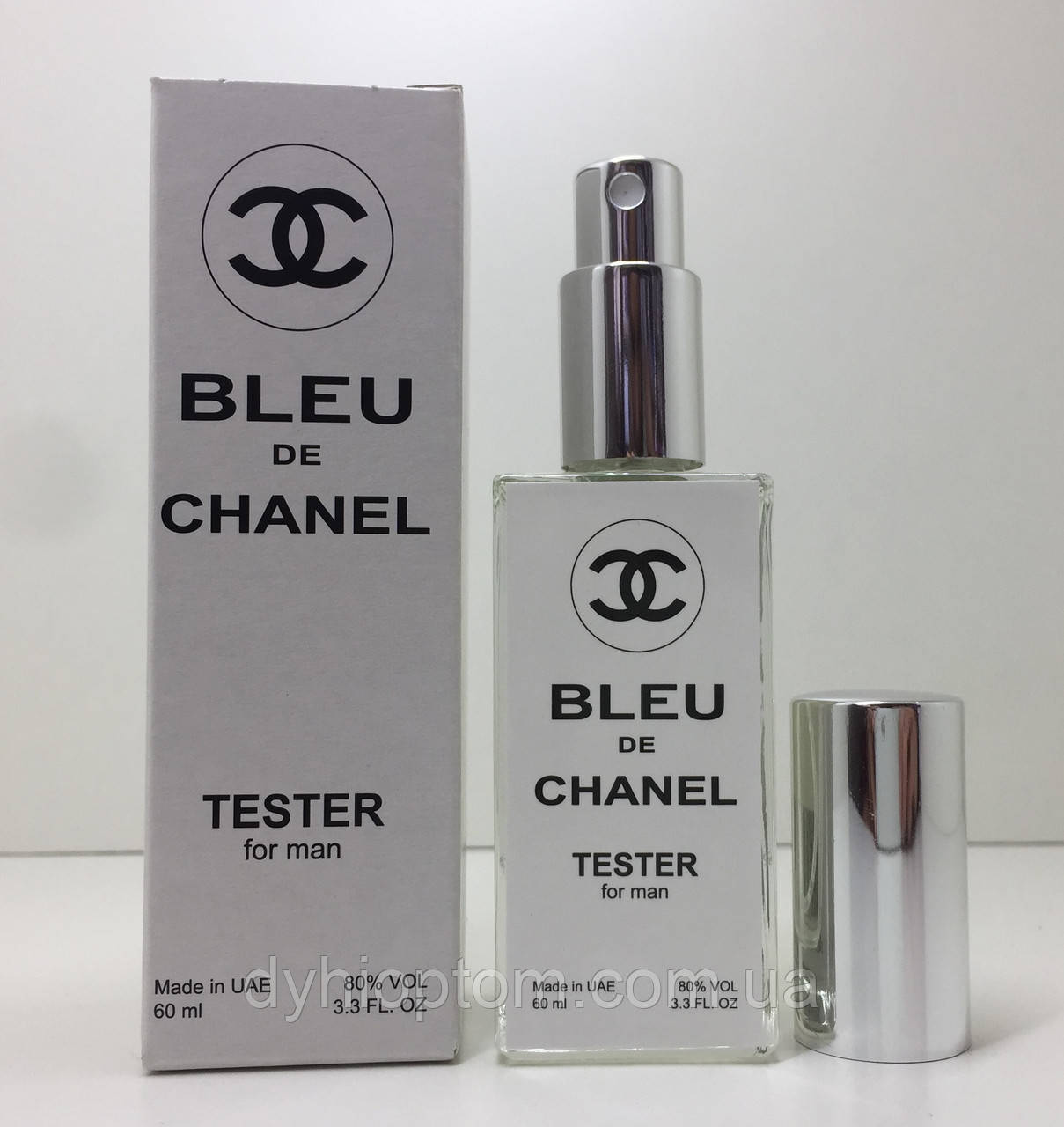 Тестер мужской Chanel Bleu de Chanel (Шанель Блю де Шанель) 60 мл