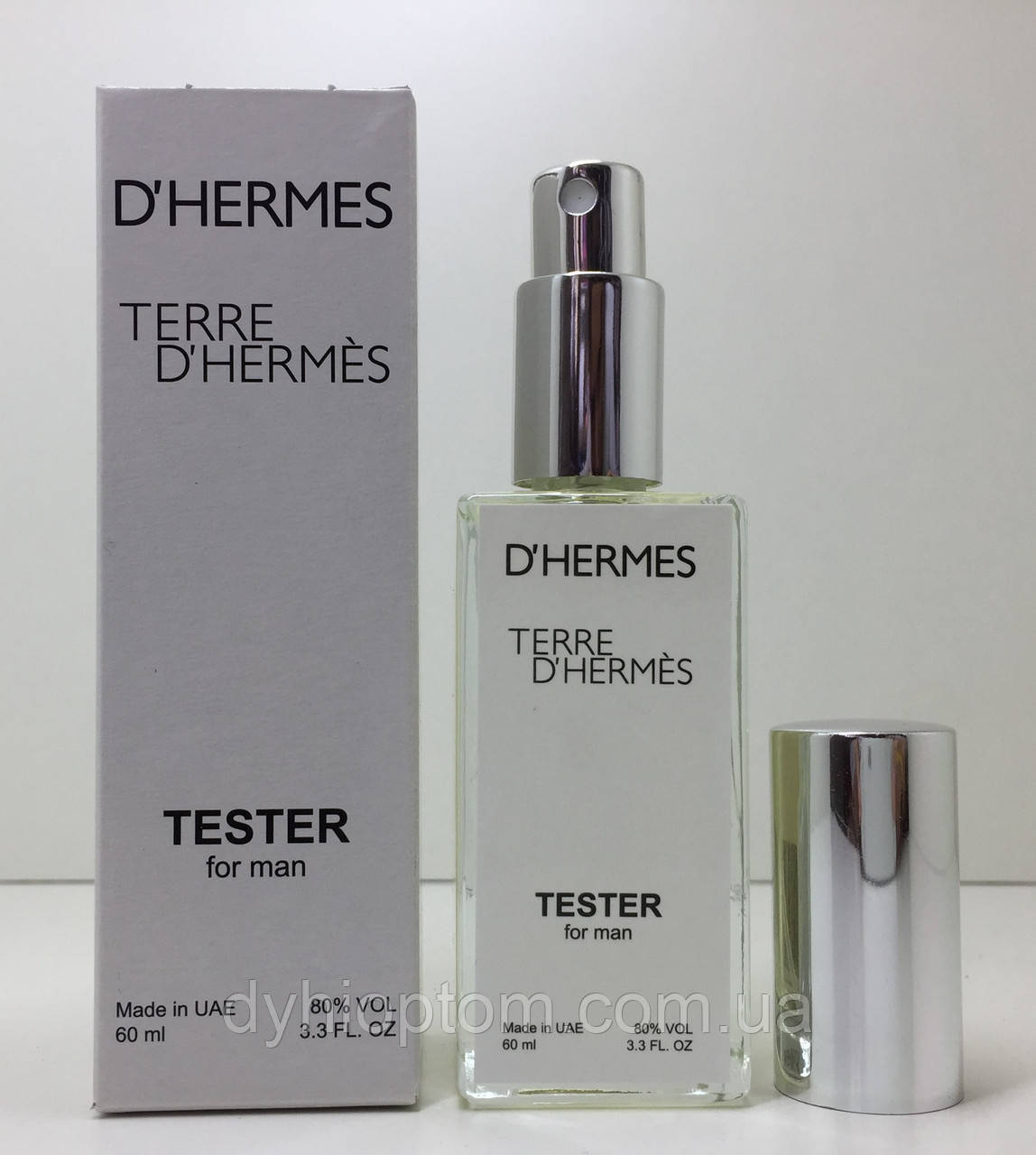 Тестер женский Hermes Terre d'Hermes (Гермес Терра) 60 мл