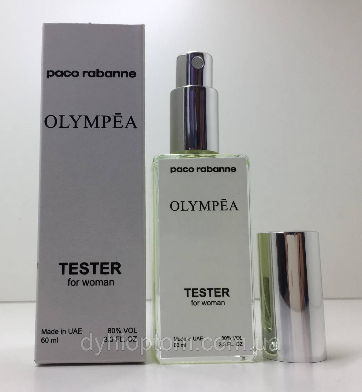 Тестер женский Paco Rabanne Olympea (Пако Рабан Олимпия) 60 мл
