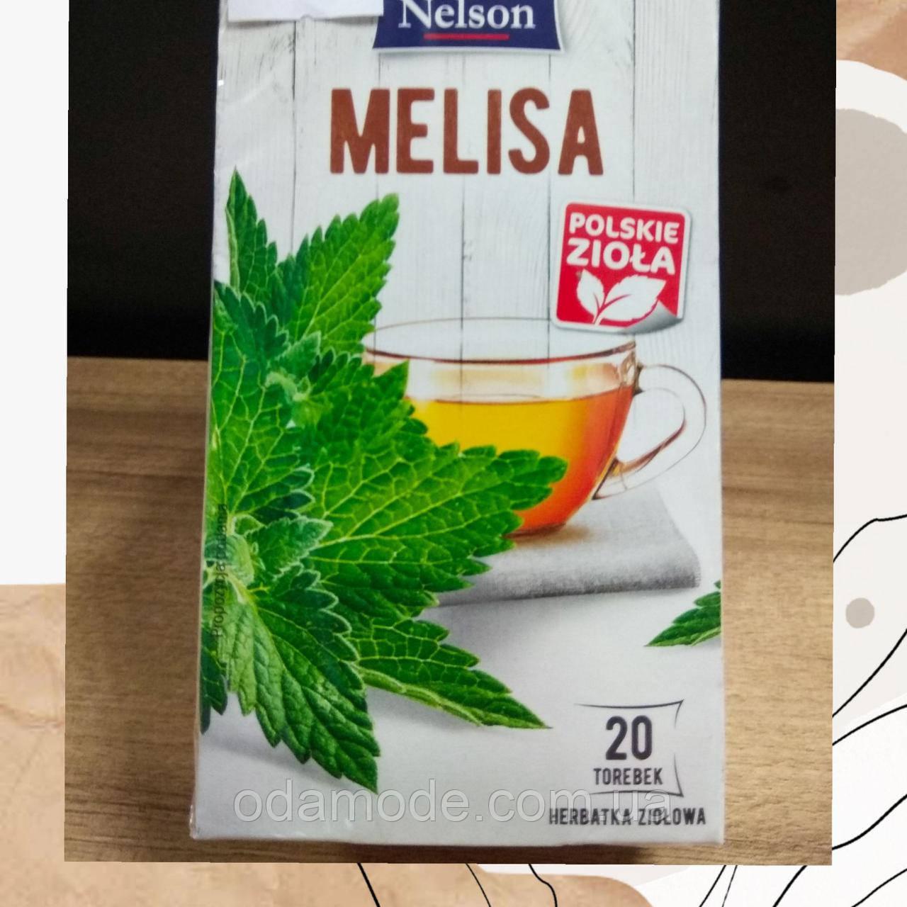 Чай мелисса пакетированный Lord Nelson 20 пакетиков Польша
