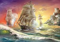 Пазли на 1000 елементів Battle Ship DankoToys С1000-10-10