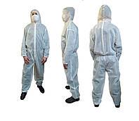Одноразовый защитный комбинезон пл 50г/м2