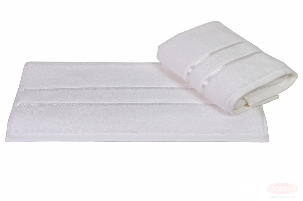 Полотенце махровое HOBBY 70х140 хлопок DOLCE белый 1шт