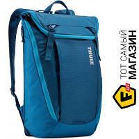 Голубой рюкзак для женщин нейлон, полиэстер Thule EnRoute Backpack 20л, poseidon (TEBP-315) нейлон, полиэстер